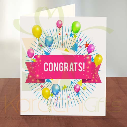 Congratulation Card 11