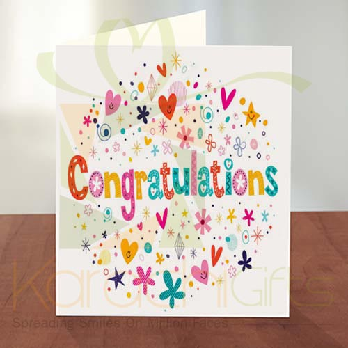 Congratulation Card 12