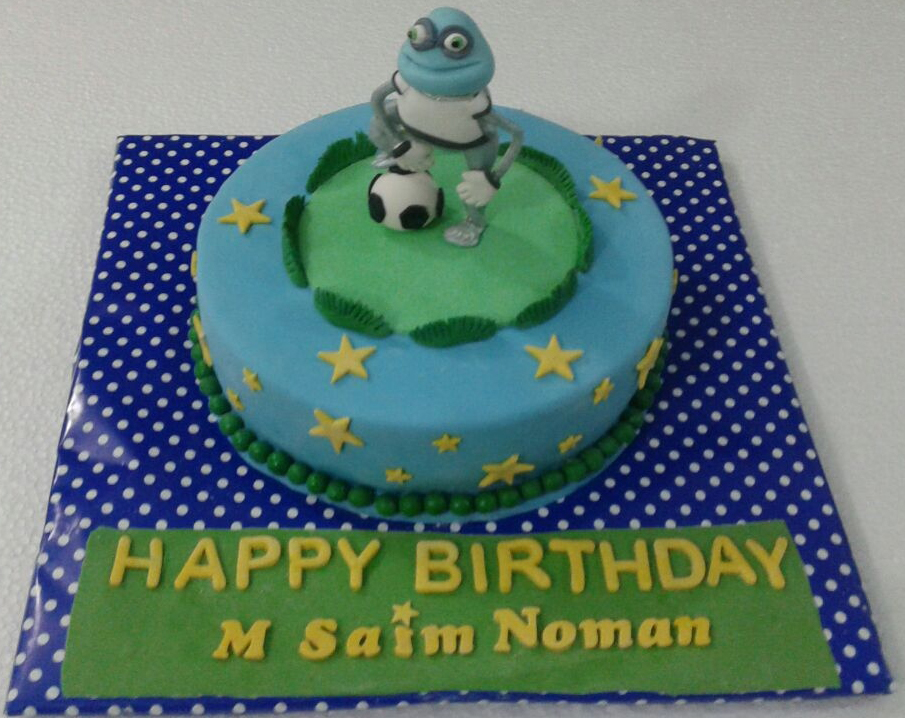 Crazy Frog Cake (4lbs)