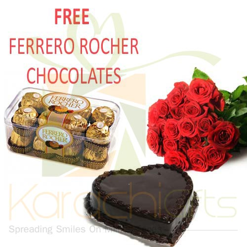 FREE Chocs With Flowers n Cake