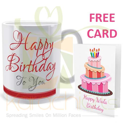 FREE Birthday Card Offer