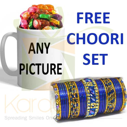 FREE Choori With Chocolate Mug