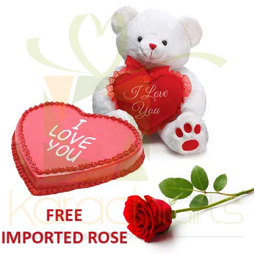 FREE Rose With Love Combo