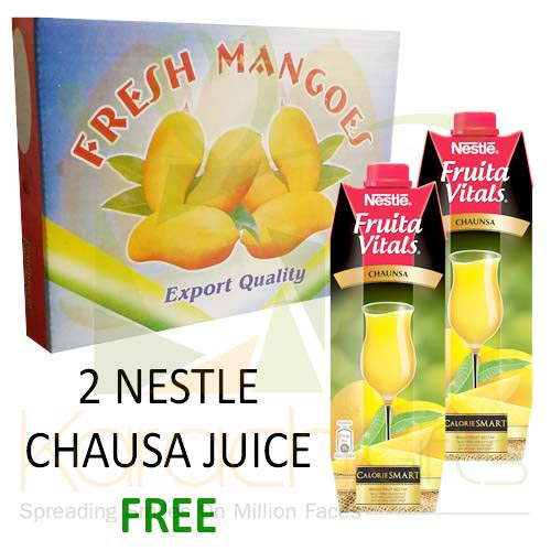 FREE Juices With 4 kg Mango Box