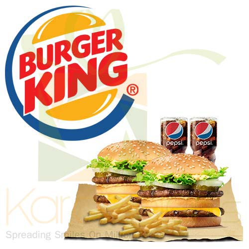 Deal 2 (For 2 Person) - Burger King