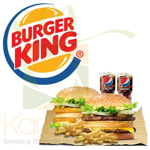 Deal 3 (For 2 Person) - Burger King