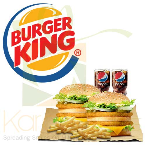 Deal 1 (For 2 Person) - Burger King