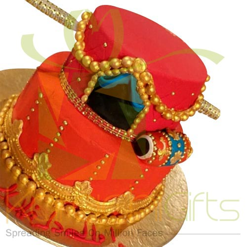 Doli Cake For Bride