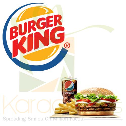 Double Whopper Meal - Burger King
