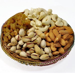 Four Famous Dry Fruits (1 KG)