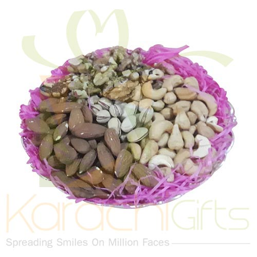 Mix Dry Fruits Tray Small