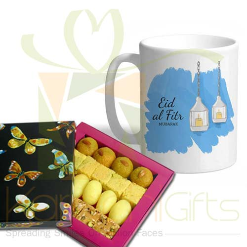Eid Mug With Mithai
