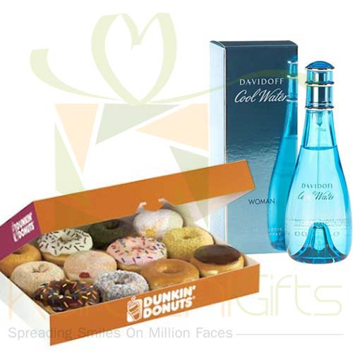 Cool Water With Donuts