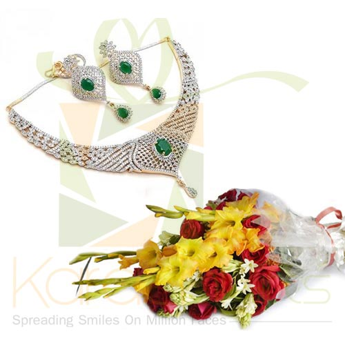 Jewellery With Flowers