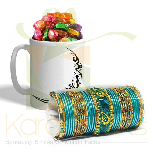 Eid Choco Mug With Choori