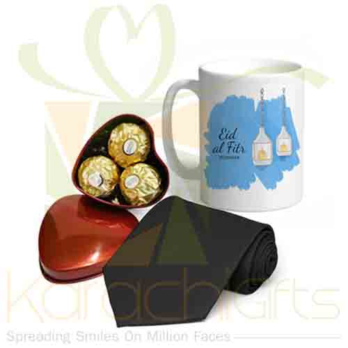 Choc Mug And Tie For Him
