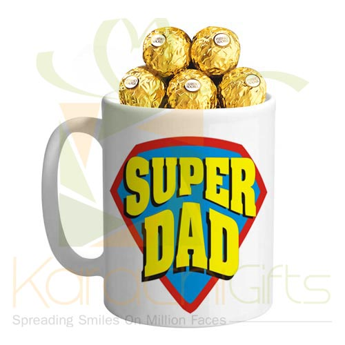 Choco Mug For Dad