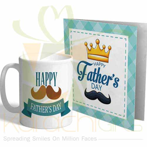 Fathers Day Mug With Card