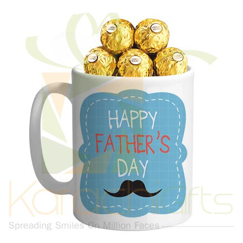 Fathers Day Mug With Chocs