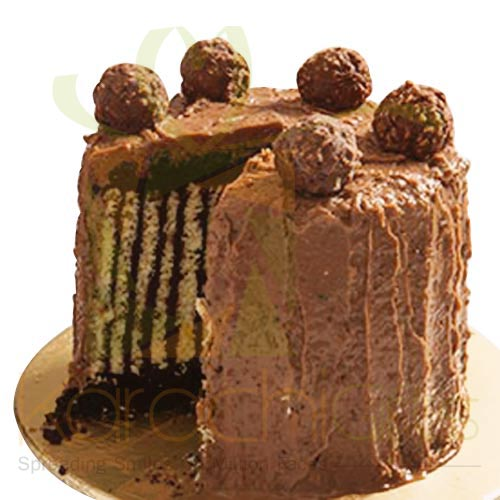 Ferrero Rocher Cake 2.5 lbs By Sky Bakers