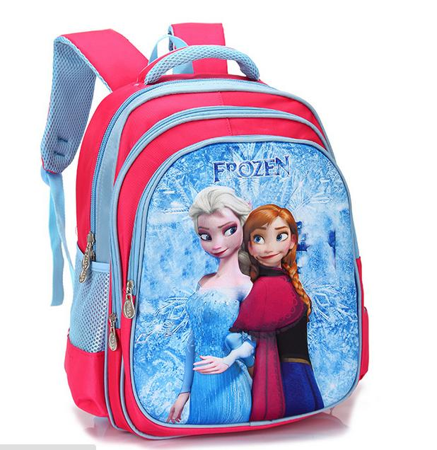 Frozen 3D Bag with Free Pencil Box