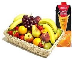 Fruit Basket and Juices Combo