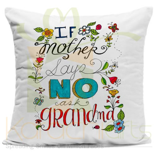 Ask Grandma Cushion