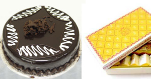 Cake ( 2lbs) & Sweets ( 2KG )