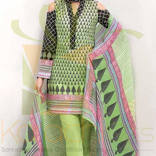Light Green 3 Pc By Gul Ahmed