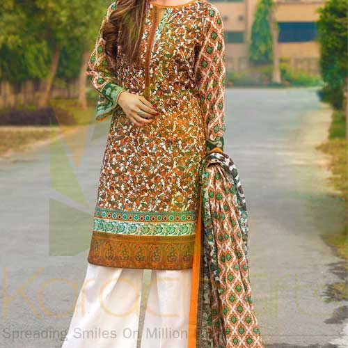 Brown 2 Pc By Gul Ahmed