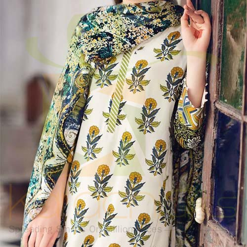 Pashmina Printed By Gul Ahmed