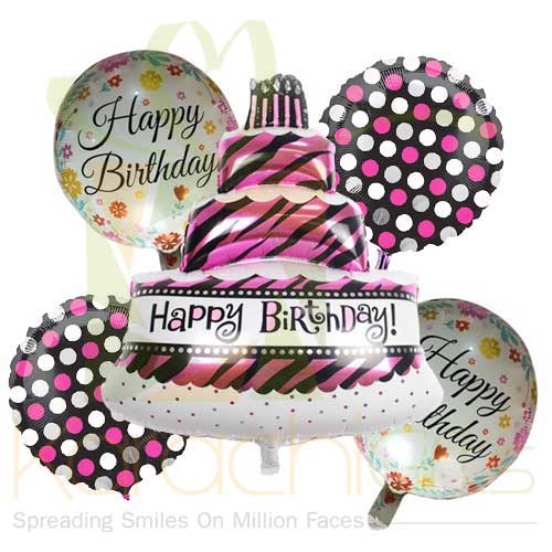 Birthday Cake Balloon