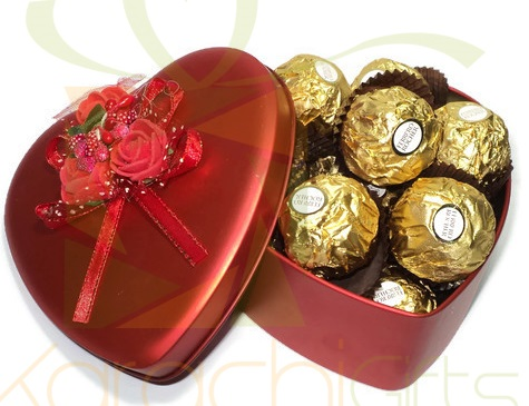 Ferrero Tin Heart