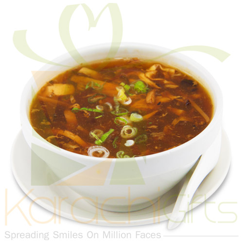 Hot And Sour Soup From Ginsoy