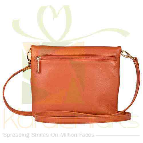 Shoulder Bag Orange Gold