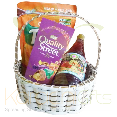 Juices And Choco Basket