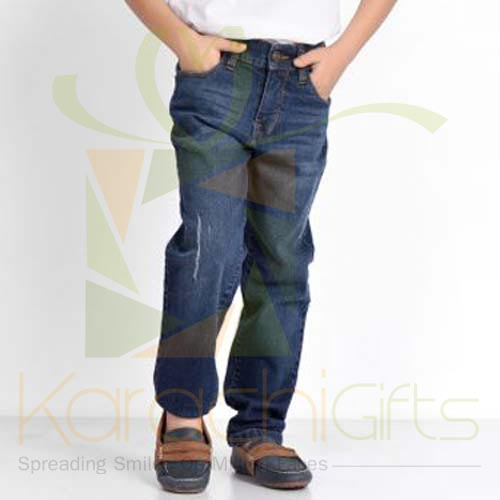 Blue Regular Fit Jeans (Khaadi)