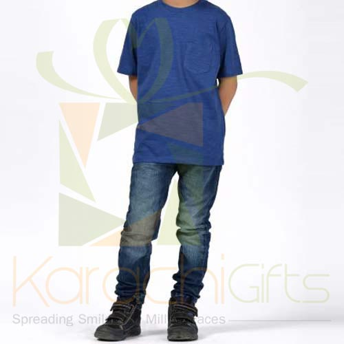 Royal Blue TShirt (Khaadi)