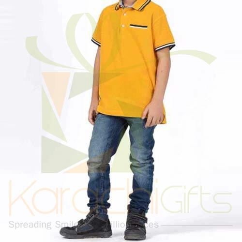 Yellow Polo TShirt (Khaadi)