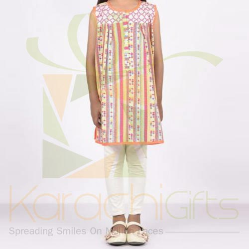 Multi Embroidered Kurta (Khaadi)
