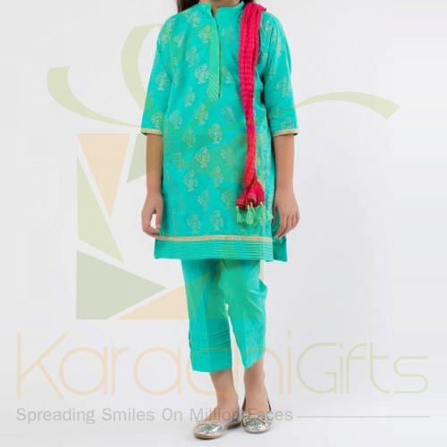 Formal Jacquard Suit (Khaadi)