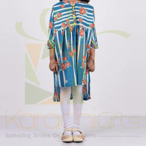 Printed Dress (Khaadi)