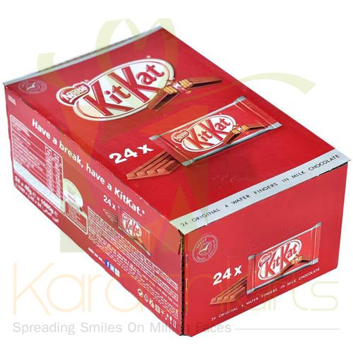 Kit Kat 24 Bars (4 Fingers)