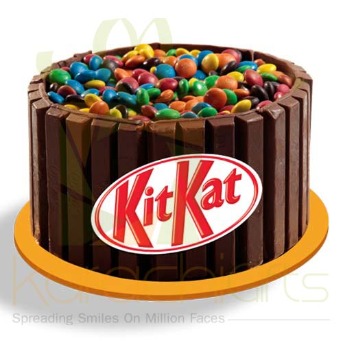 Kitkat With MnM Cake 2lbs Blue Ribbon Bakers