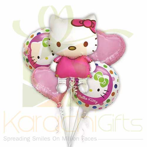 Kitty Balloon For Girl