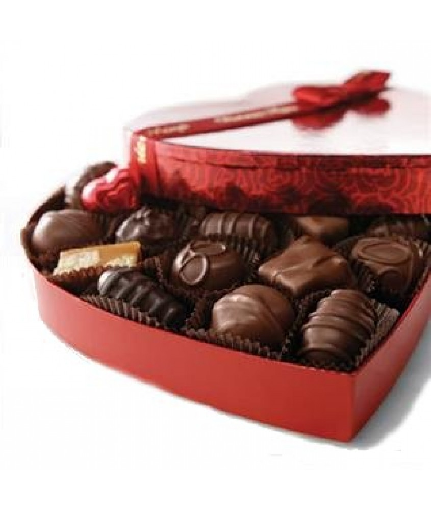 Lals Belgian Heart Chocolate Box (12 Pieces)