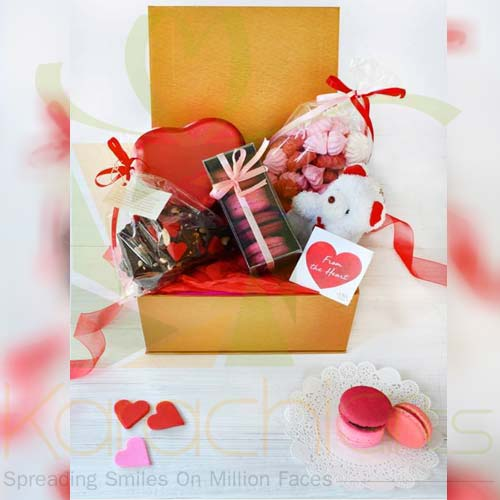 Be My Valentine Gold Box By Lals