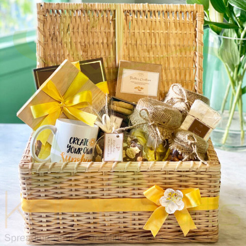 Grand Wicker Basket By Lals