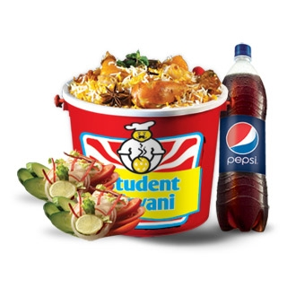 Regular Bucket Biryani Deal (2.5 kg / 5 Plates)