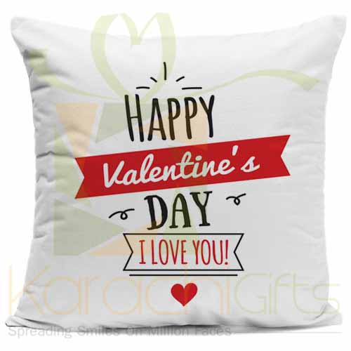 Happy Valentines Day Cushion 9
